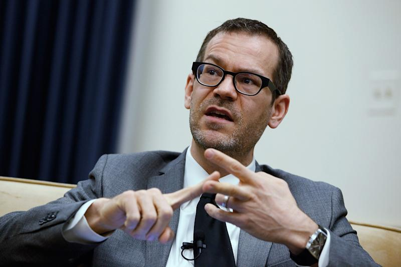Former U.S. Deputy Assistant Defense Secretary for the Middle East Colin Kahl participates in a panel discussion about Iran's nuclear program sponsored by The National Iranian American Council in the Rayburn House Office Building on Capitol Hill February 21, 2012 in Washington, D.C. (Photo: Chip Somodevilla/Getty Images)