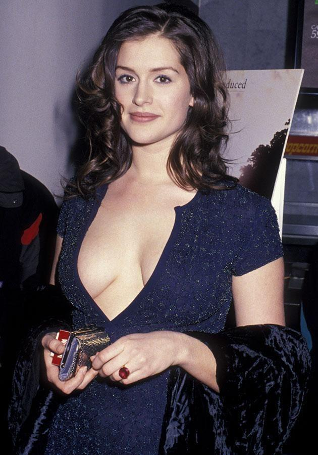 Kate Fischer in the 90s. Source: Getty Images.