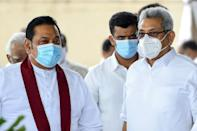 Mahinda Rajapaksa (left) and Gotabhaya Rajapaksa (right) are looking to strengthen their grip on Sri Lankan politics