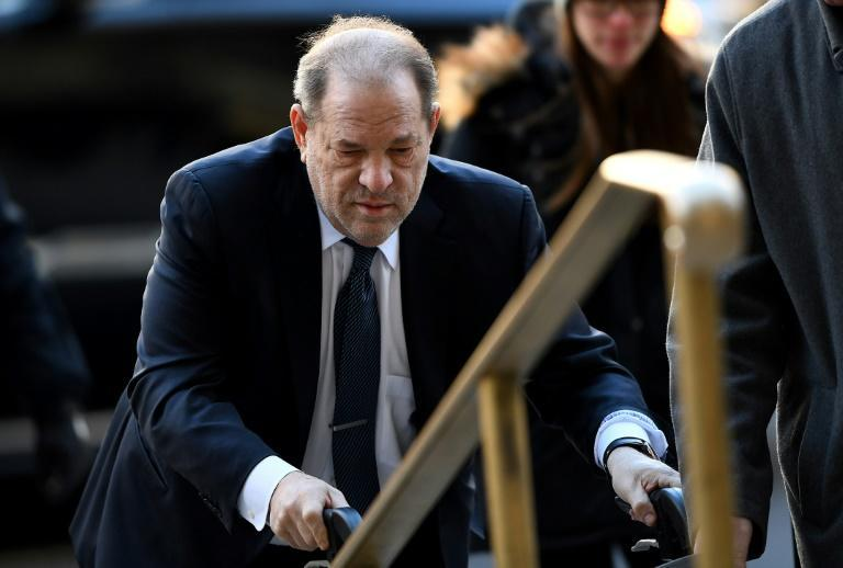 Harvey Weinstein, seen during his New York trial in 2020, has been accused of sexual assault or harassment by nearly 90 women