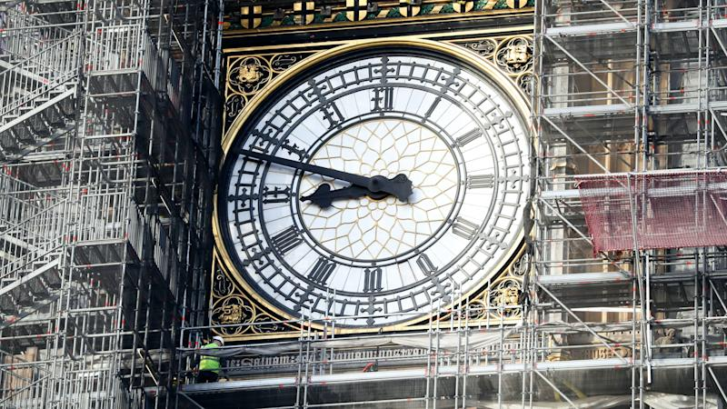 Roof of historic tower housing Big Ben to be revealed as scaffolding removed