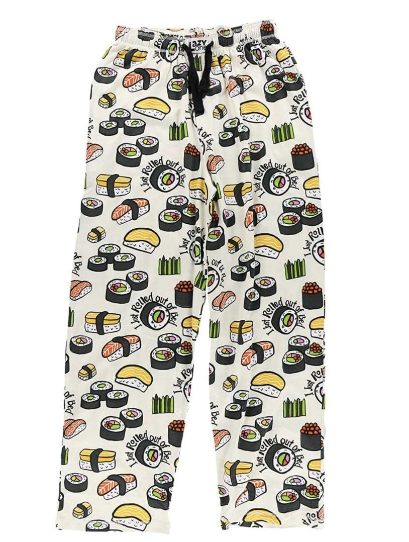 <p>The foodie in them will appreciate these sushi-inspired <span>Pajama Pants</span> ($24).</p>