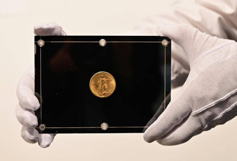 The 1933 US Double Eagle gold coin set to be auctioned in June