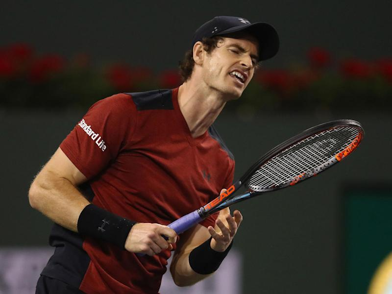 Andy Murray looks set to miss Great Britain's Davis Cup tie next week: Getty