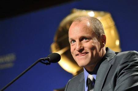 Actor Woody Harrelson reacts during the announcement of the nominations for the 69th Annual Golden Globe Awards in the Beverly Hills, California, December 15, 2011. REUTERS/Gus Ruelas