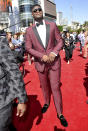 Zion Williamson, of the Duke University men's basketball team, arrives at the ESPY Awards on Wednesday, July 10, 2019, at the Microsoft Theater in Los Angeles. (Photo by Richard Shotwell/Invision/AP)