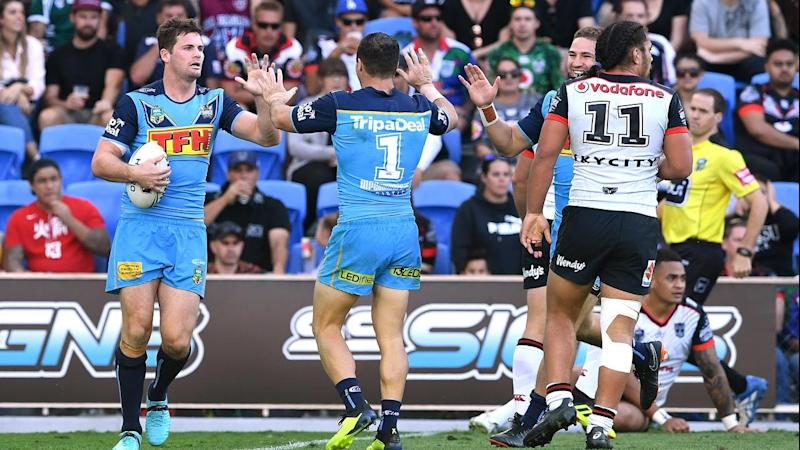NRL TITANS WARRIORS