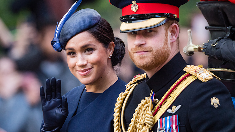 It's been confirmed that new photos that emerged on social media over the weekend are most definitely not Prince Harry and Meghan Markle's newborn, Archie.
