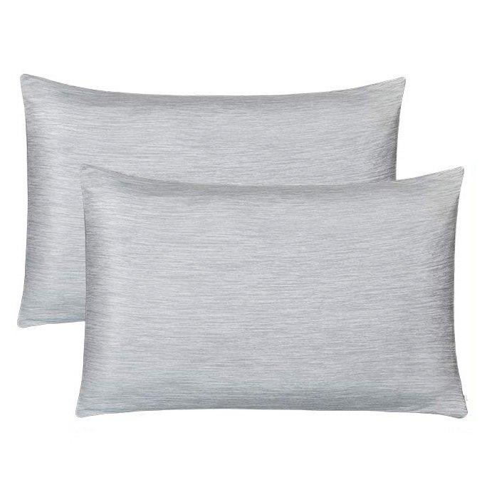 """<p>If you want a cooling pillowcase for the warmer months—but aren't sure if you'll use it year-round—this double-sided pillowcase from Luxear is a great choice because it offers the best of both worlds. One side is made with signature cooling technology fabric that'll feel cool and silky to the touch, and the other uses soft cotton fabric for a warmer feel. But whichever side you're laying on, the breathable, comfortable material will never leave you sweaty or overheated. Along with a hidden zipper design that allows for easy transfer, these innovative, temperature-controlled pillowcases are also machine-washable.</p> <p>Though there aren't tons of Amazon customer reviews on this product just yet, the reviews that are there are all positive—in fact, the <a href=""""https://www.amazon.com/Pillowcase-Double-Side-Japanese-Breathable-Eco-Friendly/product-reviews/B07V6SKZ7V/ref=as_li_ss_tl?ie=UTF8&filterByStar=five_star&reviewerType=all_reviews&linkCode=ll2&tag=rsbestcoolingpillowcaseschamilton08190f-20&linkId=d34f7d03f4f71a8b4e4503e3b80c50f5&language=en_US"""" target=""""_blank"""">pillowcase set currently holds a perfect five-star rating</a>. Many customers said that the temperature-controlled technology really works. """"They work great. I do not have central air, and sometimes it gets very hot in my bedroom even with a window air conditioning unit. I got these pillowcases to help me sleep better. I love the zipper,"""" a shopper wrote. """"They fit easily under my comforter pillowcases. They are soft and are definitely cooler than my other pillowcases.""""</p> <p>The best part? You'll pay just $20 for a set of two pillowcases in standard size, or $25 for two in queen.</p> <p><strong>To buy:</strong> $20, <a href=""""https://www.amazon.com/dp/B07V6SKZ7V/ref=as_li_ss_tl?ie=UTF8&linkCode=ll1&tag=rsbestcoolingpillowcaseschamilton08190f-20&linkId=a24196d16d8a2ab3032800932dcde4e1&language=en_US"""" target=""""_blank"""">amazon.com</a>.</p>"""