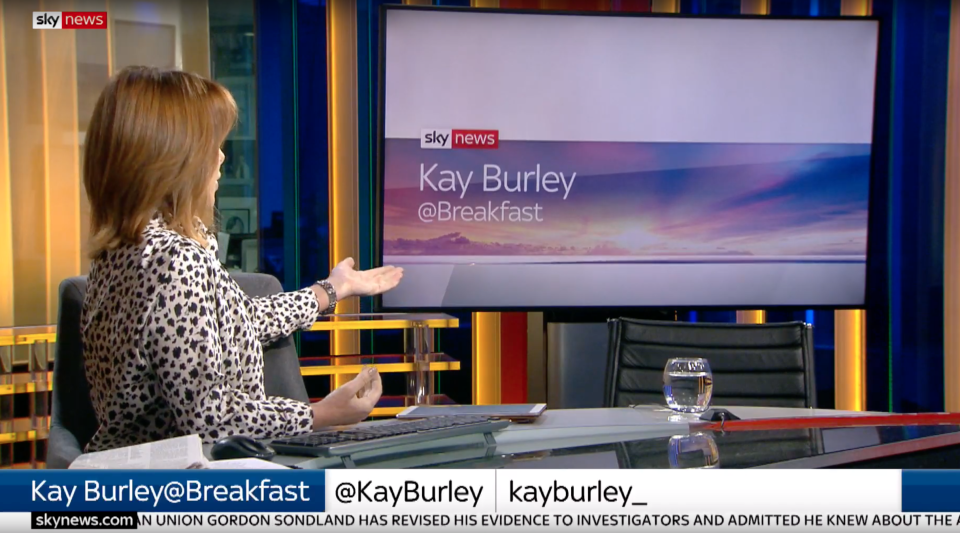 James Cleverly pulls out of Kay Burley interview (Sky News)