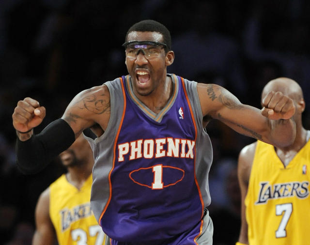 Amar'e Stoudemire helped change the way the NBA is played. (AP)
