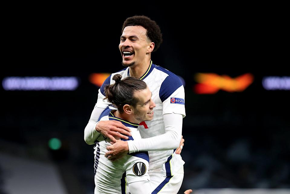 <p>Dele Alli and Gareth Bale scored excellent goals for Tottenham against Wolfsberger</p> (Getty Images)