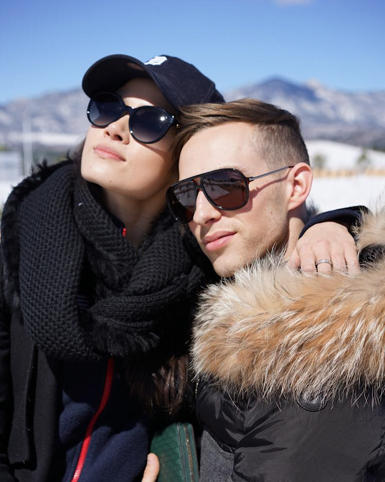 <p></p><p><span>She's also tight with fellow Team USA star Adam Rippon, even posting a 'Flashback Friday' series of photos with the 28-year-old skater dating all the way back to when they were still junior skaters. </span><br />(Instagram/@chockolate02) </p><p></p>