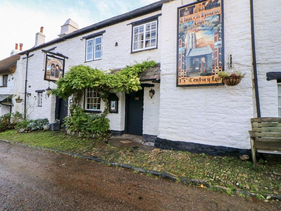 """<p>How would you like to have your own pub for a few nights? After months of being without them during the pandemic, this unique place to stay is just what we need from a holiday in the UK. <a href=""""https://go.redirectingat.com?id=127X1599956&url=https%3A%2F%2Fwww.sykescottages.co.uk%2Fcottage%2FDevon-Orley-Common%2FThe-Old-Church-House-1017380.html&sref=https%3A%2F%2Fwww.menshealth.com%2Fuk%2Fadventure%2Fg36954308%2Funique-places-to-stay-uk%2F"""" rel=""""nofollow noopener"""" target=""""_blank"""" data-ylk=""""slk:The Old Church House"""" class=""""link rapid-noclick-resp"""">The Old Church House</a> is a Devonshire inn, located in Torbryan, that both families and friends can appreciate. </p><p>You can relax in the old bar lounge by the fire as you work your way through the fully stocked bar of ale, lager and cider – poured straight from the tap, of course. There are snugs, a snooker room, darts alley, spacious beer garden, as well as comfy bedrooms to complete the experience.</p><p><strong>Sleeps: </strong>6 + 2 dogs (£20 per dog)</p><p><strong>Available from: </strong><a href=""""https://go.redirectingat.com?id=127X1599956&url=https%3A%2F%2Fwww.sykescottages.co.uk%2Fcottage%2FDevon-Orley-Common%2FThe-Old-Church-House-1017380.html&sref=https%3A%2F%2Fwww.menshealth.com%2Fuk%2Fadventure%2Fg36954308%2Funique-places-to-stay-uk%2F"""" rel=""""nofollow noopener"""" target=""""_blank"""" data-ylk=""""slk:Sykes Holiday Cottages"""" class=""""link rapid-noclick-resp"""">Sykes Holiday Cottages</a></p><p><strong>Price:</strong> Seven nights from £3,488</p><p><a class=""""link rapid-noclick-resp"""" href=""""https://go.redirectingat.com?id=127X1599956&url=https%3A%2F%2Fwww.sykescottages.co.uk%2Fcottage%2FDevon-Orley-Common%2FThe-Old-Church-House-1017380.html&sref=https%3A%2F%2Fwww.menshealth.com%2Fuk%2Fadventure%2Fg36954308%2Funique-places-to-stay-uk%2F"""" rel=""""nofollow noopener"""" target=""""_blank"""" data-ylk=""""slk:CHECK AVAILABILITY"""">CHECK AVAILABILITY</a></p>"""