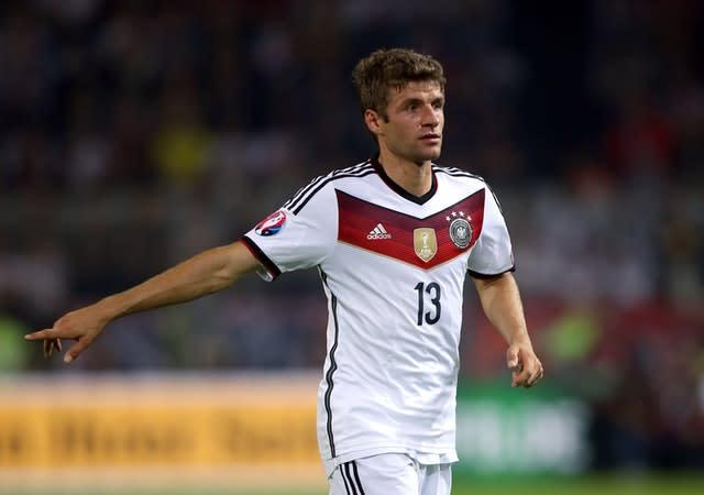 Germany's Thomas Muller could be a Manchester United target (John Walton/PA)