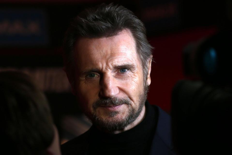 File photo dated 12/01/17 of Liam Neeson who has admitted that he harboured violent thoughts about killing a black person after someone close to him was raped.