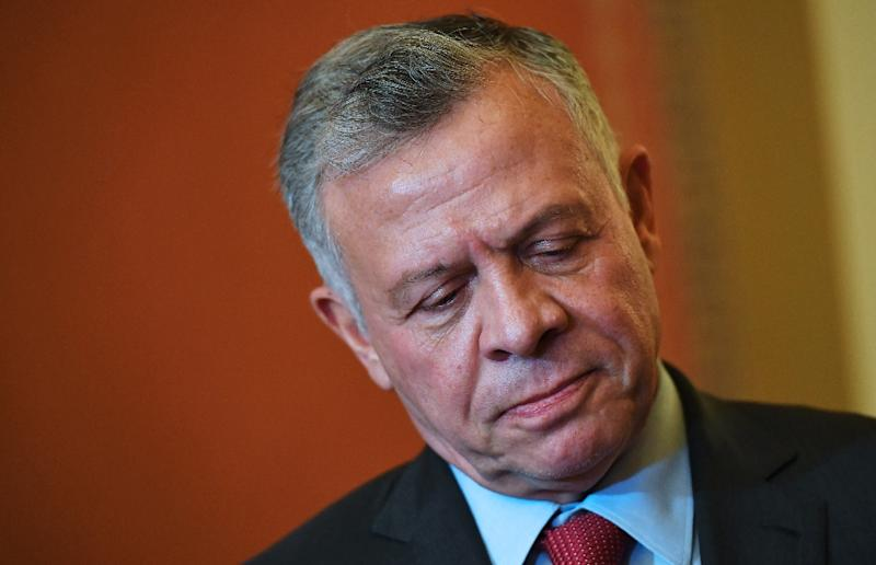 "King Abdullah II of Jordan considers Jerusalem a ""red line"" (AFP Photo/MANDEL NGAN)"