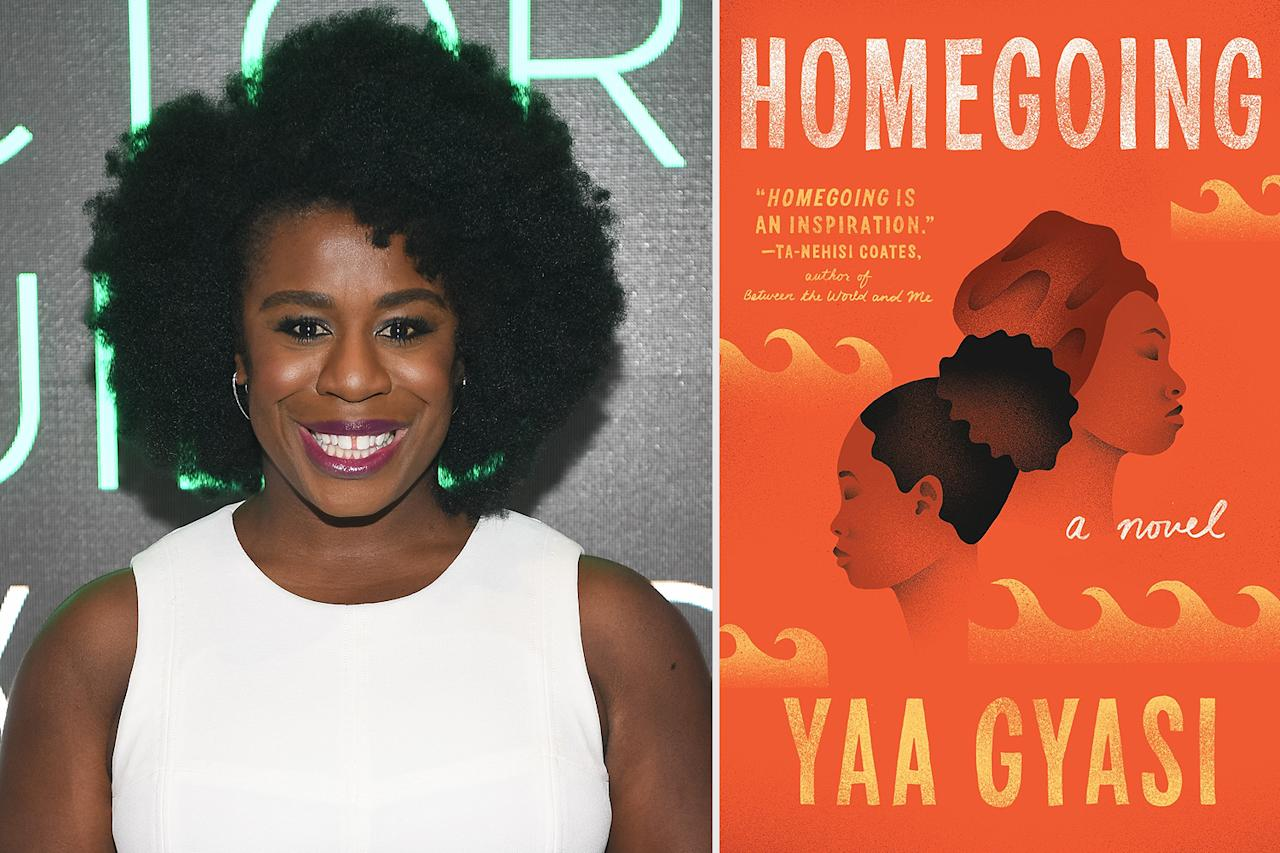 """<p>""""It's the first time I've read a book spanning generations that's tailored to the African female experience. An amazing, beautifully written book.""""</p> <p><strong>Buy it!</strong><em>Homecoming</em> by Yaa Gyasi, $10.38 (orig. $16.95); <a href=""""https://www.amazon.com/Homegoing-Yaa-Gyasi/dp/1101971061/ref=as_li_ss_tl?ie=UTF8&linkCode=ll1&tag=pobookscelebbookclubreadslsegal0820-20&linkId=522d0a8c108125146d633d595f785785&language=en_US"""" target=""""_blank"""">amazon.com</a></p>"""