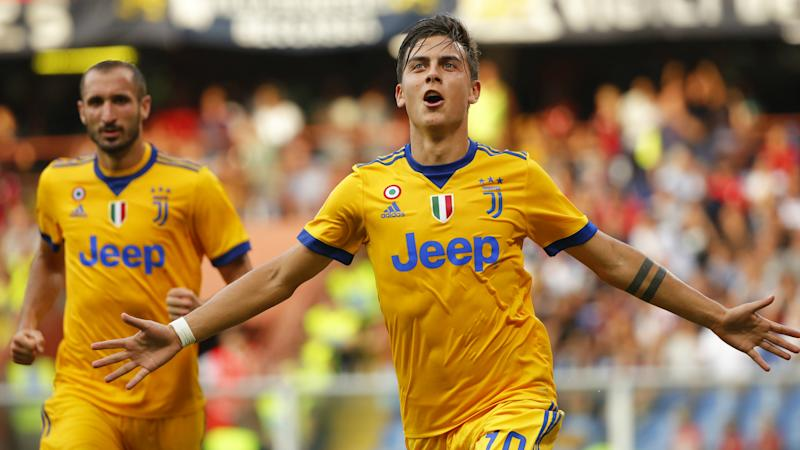 the best attitude c039f 83f54 No.10 shirt is bringing me luck' - Dybala pleased with early ...