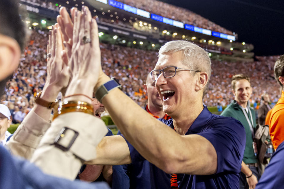 Tim Cook. (Foto: AP Photo/Vasha Hunt)