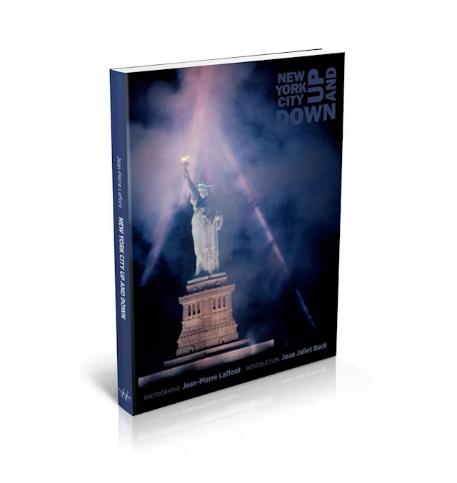 "<p>Book cover of ""New York City Up and Down."" (Photo: ""New York City Up and Down"" by Jean-Pierre Laffont, copyright © 2017, published by Glitterati Inc. <a href=""https://glitteratiincorporated.com"" rel=""nofollow noopener"" target=""_blank"" data-ylk=""slk:https://glitteratiincorporated.com"" class=""link rapid-noclick-resp"">https://glitteratiincorporated.com</a>) </p>"