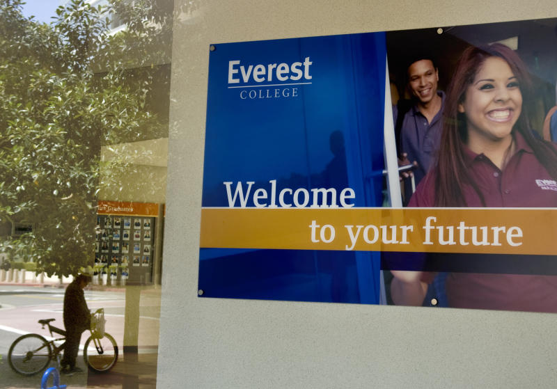 An Everest College campus in Santa Ana, California.