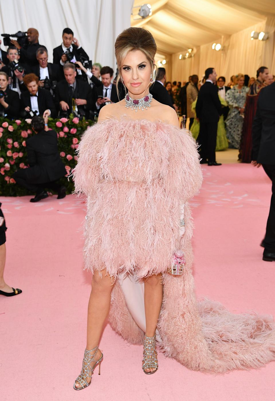 """<h1 class=""""title"""">Leslie Grossman with a Judith Leiber Couture bag</h1><cite class=""""credit"""">Photo: Getty Images</cite>"""