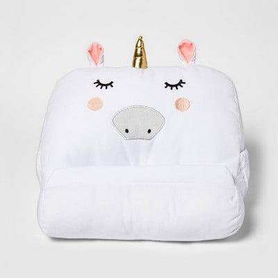 <p>The <span>Unicorn Tablet and Book Buddy</span> ($18) is incredibly useful and cute.</p>