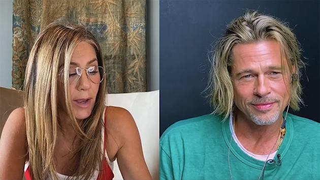 The 'Fast Times' Table Read Became an Aniston/Pitt Reunion
