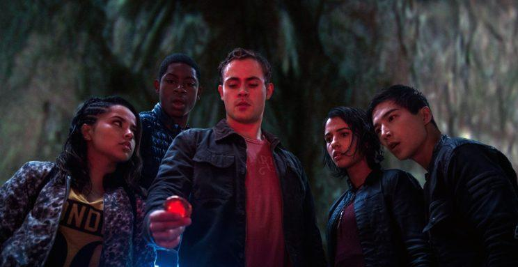"""The new """"Power Rangers."""" (Photo: Kimberley French/Lionsgate/courtesy Everett Collection)"""