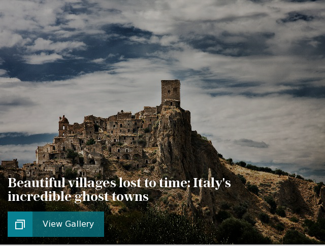 Beautiful villages lost to time: Italy's incredible ghost towns