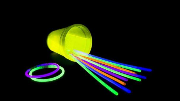 PHOTO: Glow sticks are pictured in this undated stock photo. (STOCK PHOTO/Shutterstock)