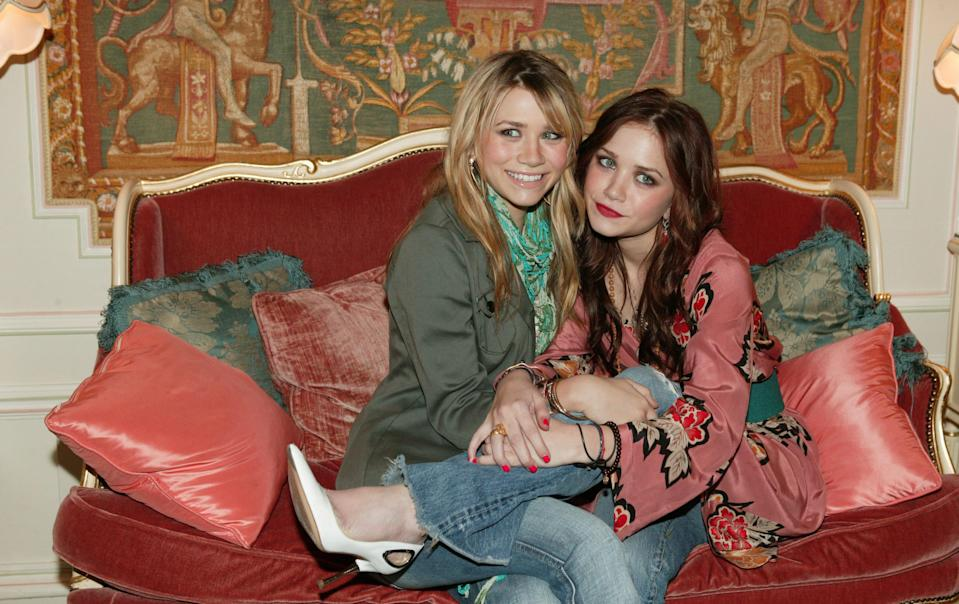 Today, you may know Mary Kate and Ashley Olsen as the duo behind The Row, the luxe line known for its extreme minimalism, but their first clothing venture was actually back in 2004. The twins teamed up on a line for girls sold at Walmart. Clearly, they had a love for fashion early-on.