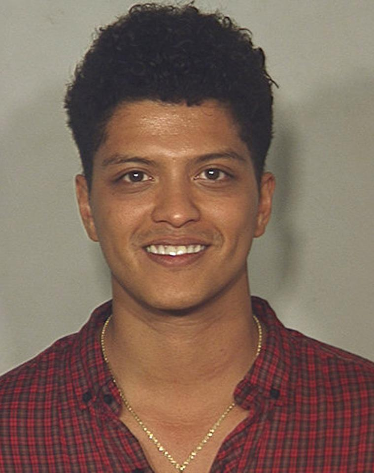 <b>Who:</b> Peter Hernandez (a.k.a. Bruno Mars)<br /><b>What:</b> Arrested for possession of cocaine<br /><b>Where:</b> Las Vegas, Nevada <br /><b>When:</b> September 19, 2010