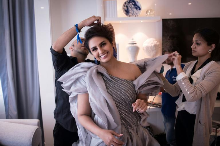 """Bollywood actress Huma Qureshi, 32, first came to Cannes in 2012 with her debut """"The Gangs of Wasseypur"""""""