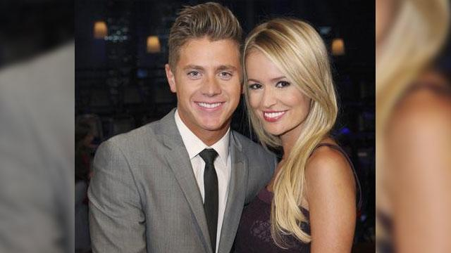 'Bachelorette''s Emily and Jef Blend Families