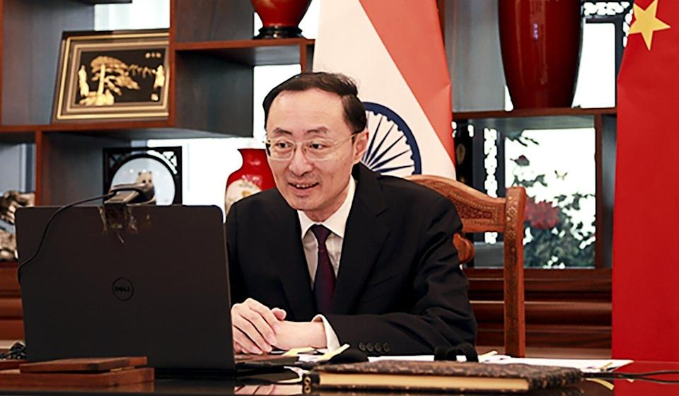 China's ambassador to India Sun Weidong hit back at a comment made by his Australian counterpart, high commissioner Barry O'Farrell. Photo: Twitter