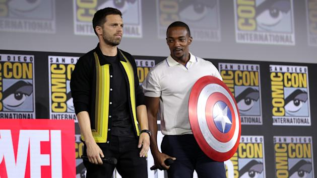 Resultado de imagen para The Falcon and the Winter Soldier