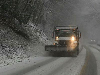 As Hurricane Sandy battered the eastern seaboard, a cold weather system blanketed most of the high elevations in West Virginia Monday. Blizzard conditions are in effect across multiple counties in West Virginia, Virginia and Pennsylvania. (Oct. 29)