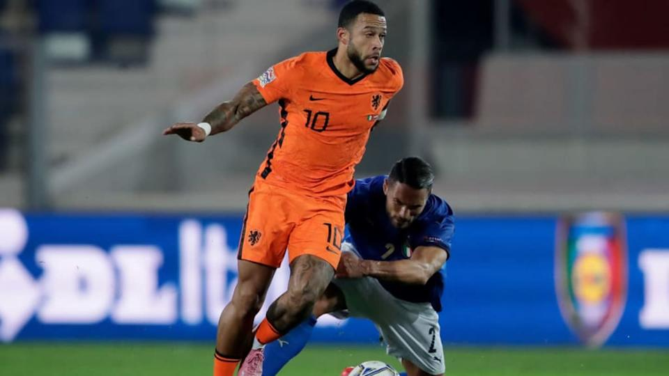 Italy v Holland -UEFA Nations league | Soccrates Images/Getty Images
