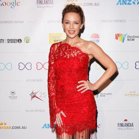 Kylie Minogue 'great' to photograph