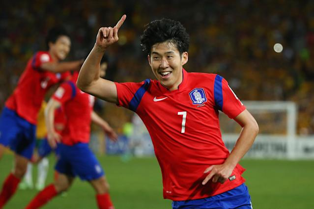 Son Heung-min will have to have the tournament of his life if South Korea is to make noise at the 2018 World Cup. (Getty)