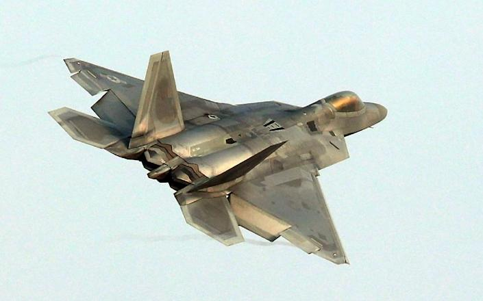 During one incident in November, an F-22 intercepted a Russian plane and was ready to fire, US officials say (AFP Photo/-)