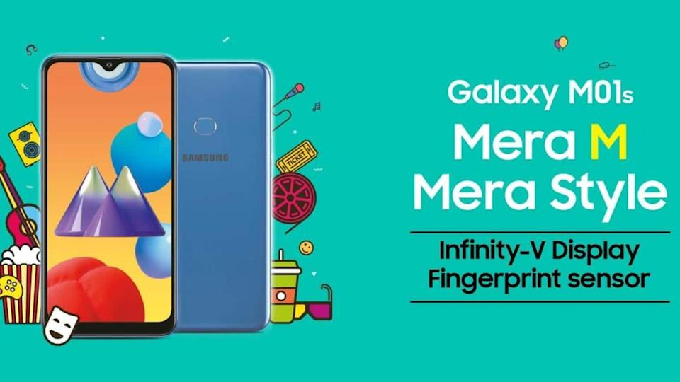 Samsung releases Android 11 update for Galaxy M01s in India
