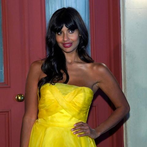 "Jameela Jamil said the marketing was ""terrible and toxic"" - Credit:  NBCUniversal"