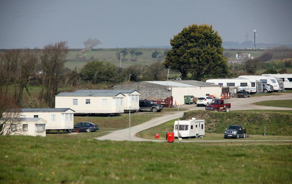 Tencreek Holiday Park, Looe, Cornwall where nine-year-old Frankie MacRitchie was mauled to death by a dog.