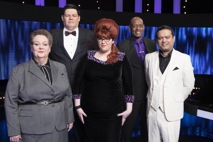 Jenny Ryan could've been called 'The Cougar'. (ITV/Gary Moyes)