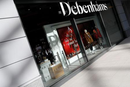 FILE PHOTO: A new Debenhams department store is seen in a shopping centre in Watford, Britain, September 24, 2018. REUTERS/Peter Nicholls/File Photo