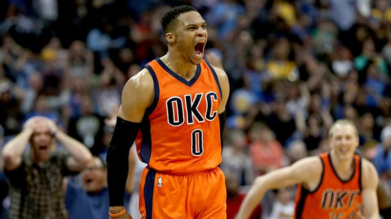 Russell Westbrook's Thunder extension reportedly most lucrative in NBA history
