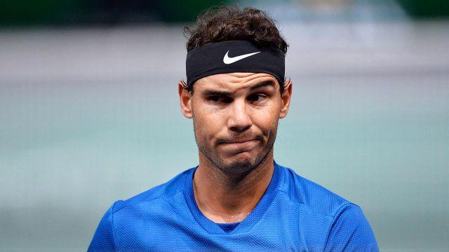 Nadal has fought a number of injuries through the years. Pic: Getty